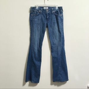 A/X Armani Exchange Twisted Flare Jeans 12